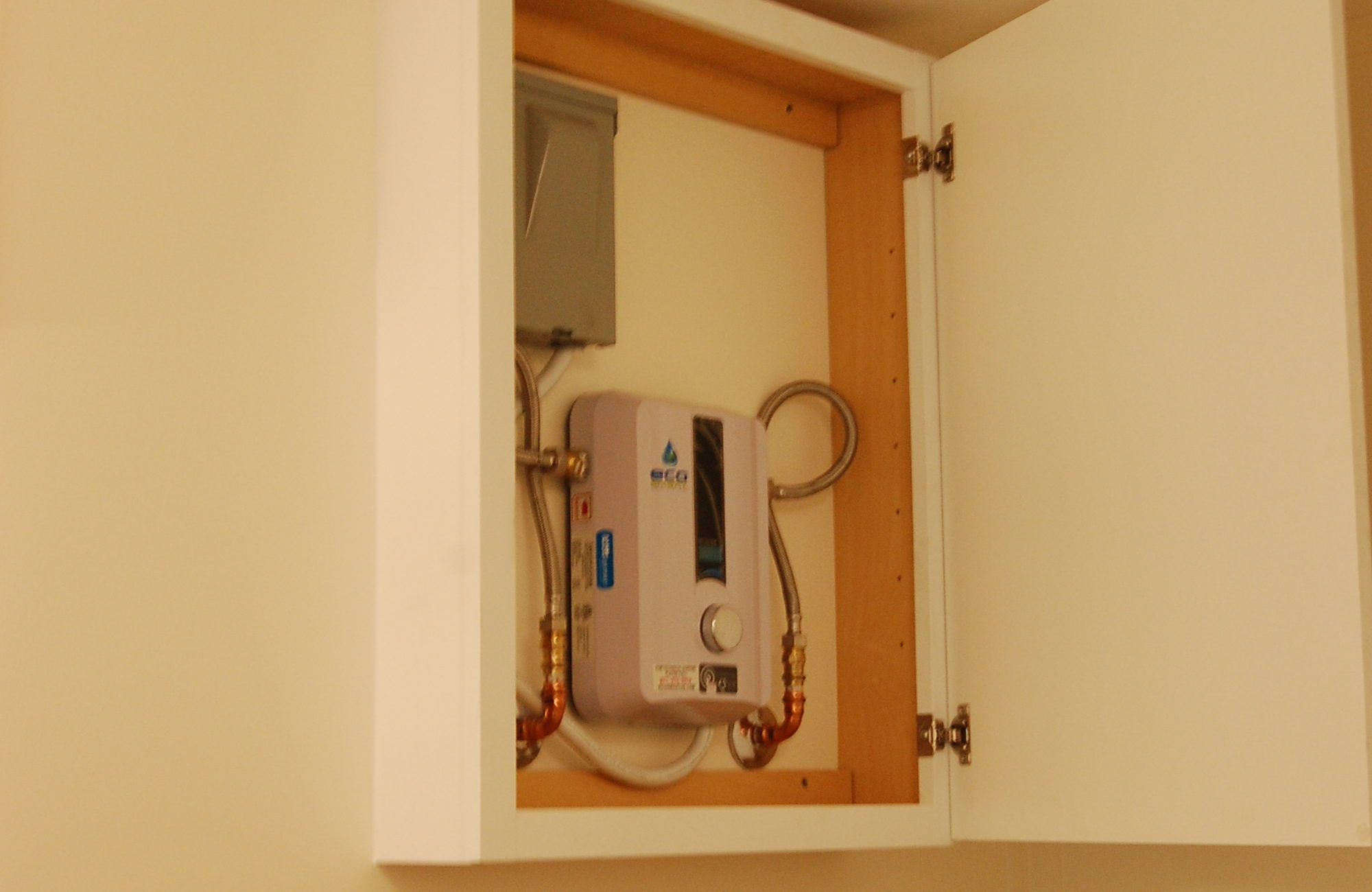 GSH_CFU UFAS Bathroom tankless water heater