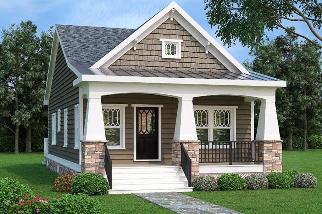 Borwn Modular House